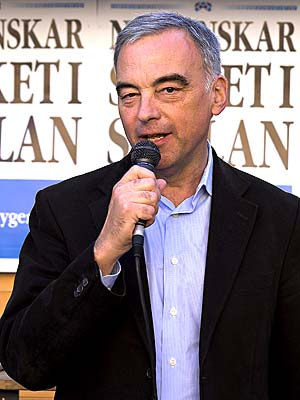 © 2006 Johan Gullberg - Folkpartiets ledare Lars Lejonborg