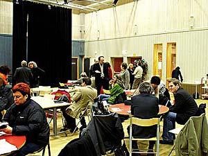 © 2006 Johan Gullberg - Rätt att rösta Kulturarenan i Vivalla