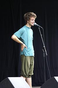 ©2007 Johan Gullberg - knytpunkt.com  Benjamin (Poetry Slam)